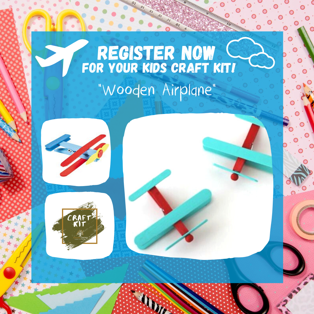 Wooden Airplane Craft Kit